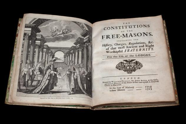 The Constitutions of the Free-Masons (1723) ©Museum of Freemasonry