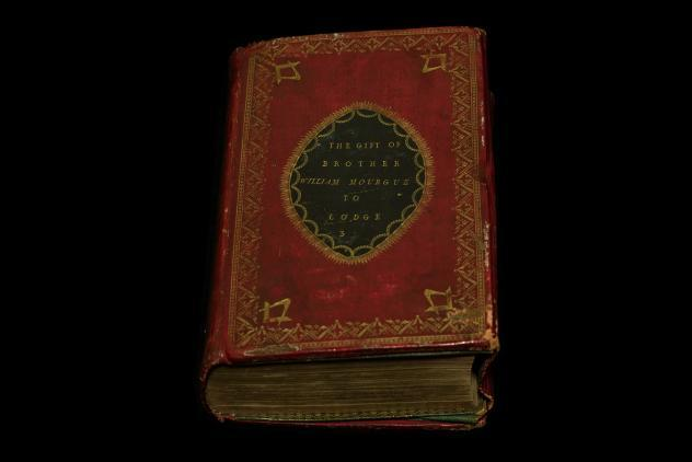 William Mourgue Bible, c1760 ©Museum of Freemasonry